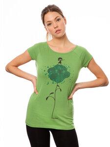 Damen T-Shirt Dab Dance Bio Fair - FellHerz