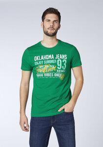 Men, T-Shirt, Regular Fit - Oklahoma Jeans