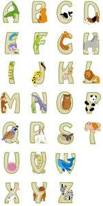 Buchstaben Set 'ABC-Englisch' - EverEarth