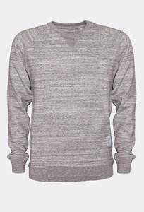 JAPAN REDUCED Raglan Sweater Slub Heather - Rotholz