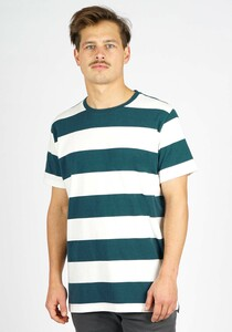 Extanded Big Striped T-Shirt - Honesty Rules