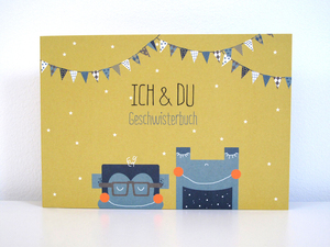 Ich & Du Geschwisterbuch - ava&yves