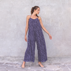 JASMINE DOTS - Damen - lockerer Jumpsuit - One Size - Jaya