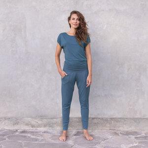 RAYA - Damen - Jumpsuit für Yoga und Freizeit aus Tencel-Biobaumwoll-Mix - Jaya