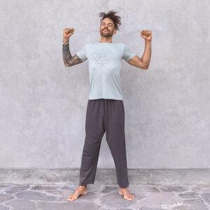 MATTEO - Männer - Print T-Shirt für Yoga aus 100% Biobaumwolle - Jaya