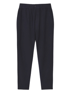 Travel Pants Navy - thinking mu
