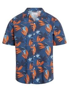 Wave loose fit flower print shirt - KnowledgeCotton Apparel