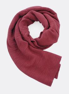 Gestrickter Schal aus Bio-Baumwolle – Ripp-Struktur 4186 - Djian Collection