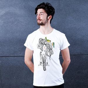 Nature is My Label - Printshirt Männer aus Biobaumwolle - Coromandel