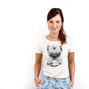 Mother Nature Mindset - Bioshirt Frauen mit Print - Coromandel