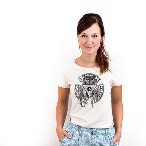 Quality of Human Nature - T-Shirt Frauen mit Print - Coromandel