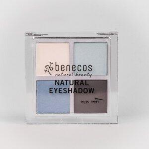 Naturkosmetik - Quattro Eyeshadow Palette - vegan - benecos