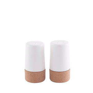 Salz- und Pfefferstreuer Set - Kork-Keramik für Ihren Haushalt aus natürliche Materialien - Doghammer