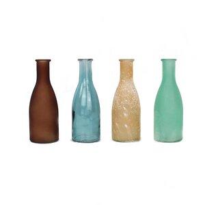 Bottle 4er Set aus Glas - Mitienda Shop