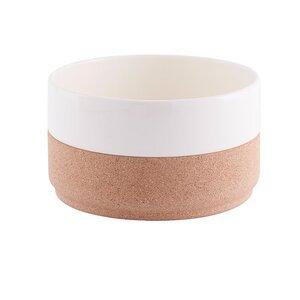 Kork Salatschüssel - Kork-Keramik aus natürlichen Materialien für deinen Haushalt oder unterwegs - Doghammer