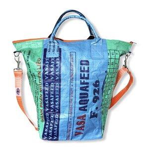 Multifunktionsbehälter / Wäschesack recycelter Reissack - Beadbags