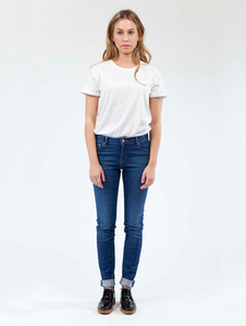 Skinny Hazen - Pure Blue - Mud Jeans
