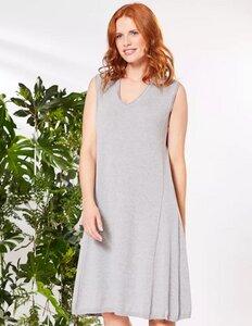 Strick-Kleid Laureline mit V-Ausschnitt - aus 100% Bio-Baumwolle - Deerberg