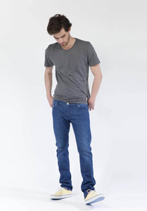 Slim Lassen - Pure Blue - Mud Jeans