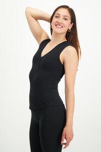 Yoga Top Namaste mit V-Ausschnitt – Bio-Baumwolle - Urban Goddess