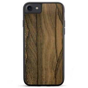 Handyhülle aus Holz - Ziricote / Schwarz für iPhone, Samsung, Huawei - MMORE