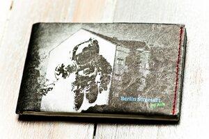 Portemonnaie (Big) - Spaceman (reißfestes Tyvek) - paprcuts