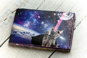 Portemonnaie (Regular) - Laser Cats (reißfestes Papier) - paprcuts