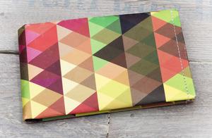 Portemonnaie (Regular) - Dreiecke (reißfestes Papier) - paprcuts