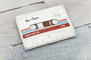 Portemonnaie (Big) - MixTape (reißfestes Papier) - paprcuts