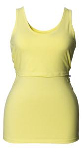 Stilltop und Umstandstop aus Bio-Baumwolle lemon - Boob