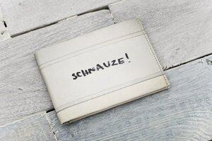 Portemonnaie (Big) - Schnauze! (reißfestes Tyvek®) - paprcuts