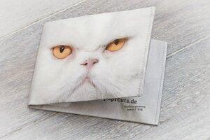 Portemonnaie (Big) - Grumpy Cat (reißfestes Tyvek®) - paprcuts