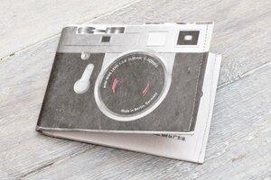Portemonnaie (Big) - Kamera - paprcuts