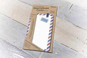 Smartphone Cover (Regular) - Airmail (aus reißfestem Tyvek®) - paprcuts