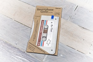 Smartphone Cover (Regular) - MixTape (aus reißfestem Tyvek®) - paprcuts