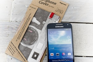 Smartphone Cover (Regular) - Kamera (aus reißfestem Tyvek®) - paprcuts