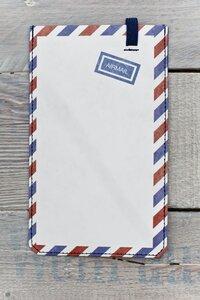 Smartphone Cover (Big) - Airmail (aus reißfestem Tyvek) - paprcuts