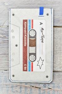 Smartphone Cover (Big) - MixTape (aus reißfestem Tyvek) - paprcuts