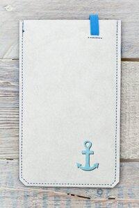 Smartphone Cover (Big) - Anker (aus reißfestem Tyvek®) - paprcuts