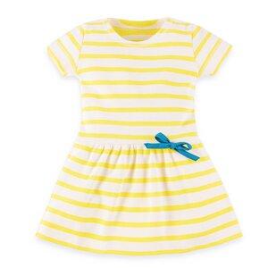 Gestreiftes Sommerkleid für Mädchen - internaht