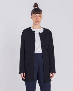 Damen Cardigan aus Bio-Baumwolle - Bea - schwarz - Degree Clothing