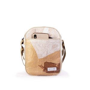 "Umhängetasche aus recycelten Plastiktüten ""Bike Cross Bag"" - Up-fuse"