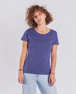 Damen T-Shirt aus Bio-Baumwolle/Modal - Classic Modal - blau - Degree Clothing