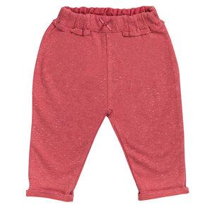 Mädchen Jogginghose rot biologisch People Wear Organic - People Wear Organic
