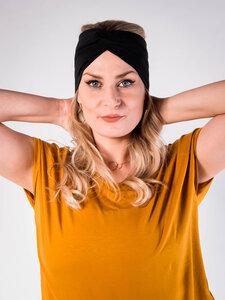 PUFFBIRD® Haarband aus Bio-Baumwolle - Jersey Basic - PUFFBIRD