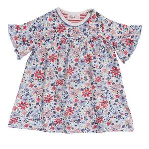 Mädchen Kleid Blumen Bio People Wear Organic - People Wear Organic