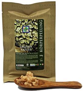 Grüner Kaffee Körperpeeling 100g - Tanamera®