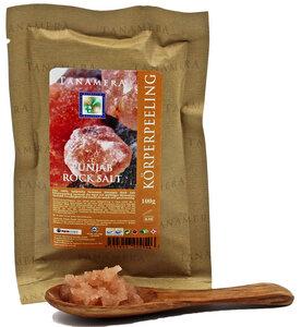 Rosa Kristallsalz Körperpeeling 100g - Tanamera®