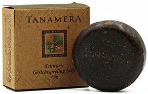 Schwarze Peelingseife für das Gesicht 60g - Tanamera®