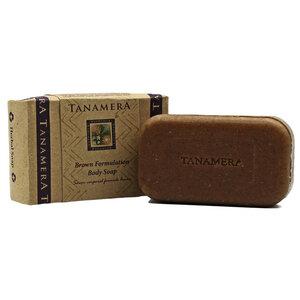 Braune Körperpeelingseife 125g - Tanamera®